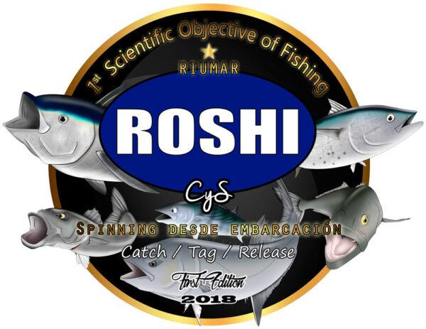 1er Objetivo científico de Pesca ROSHI Fishing Riumar 2018 logo
